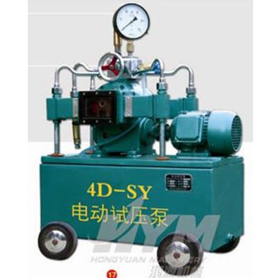 pressure hydraulic test pump